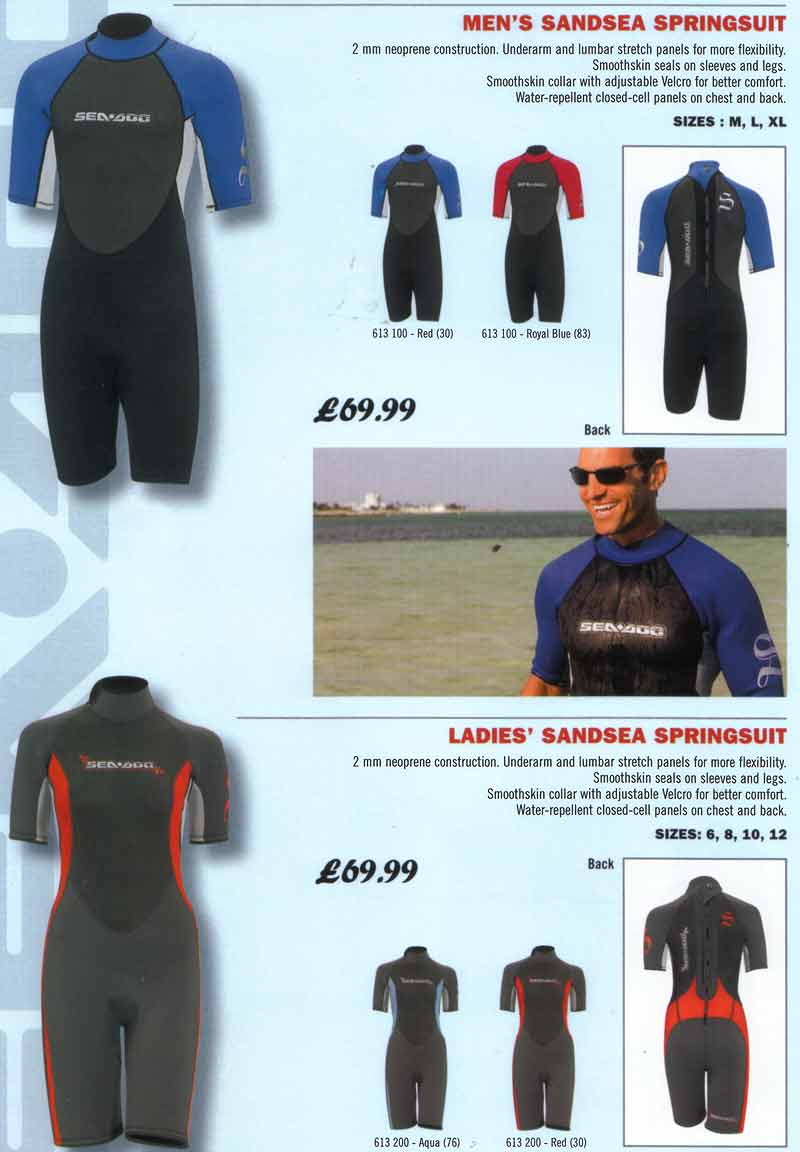 Jet Ski Wetsuits Sea Doo Clothing Apparel Starters