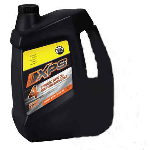 Brp xps synthetic blend 4 stroke oil 947ml part 293600121 for Can you mix regular motor oil with synthetic